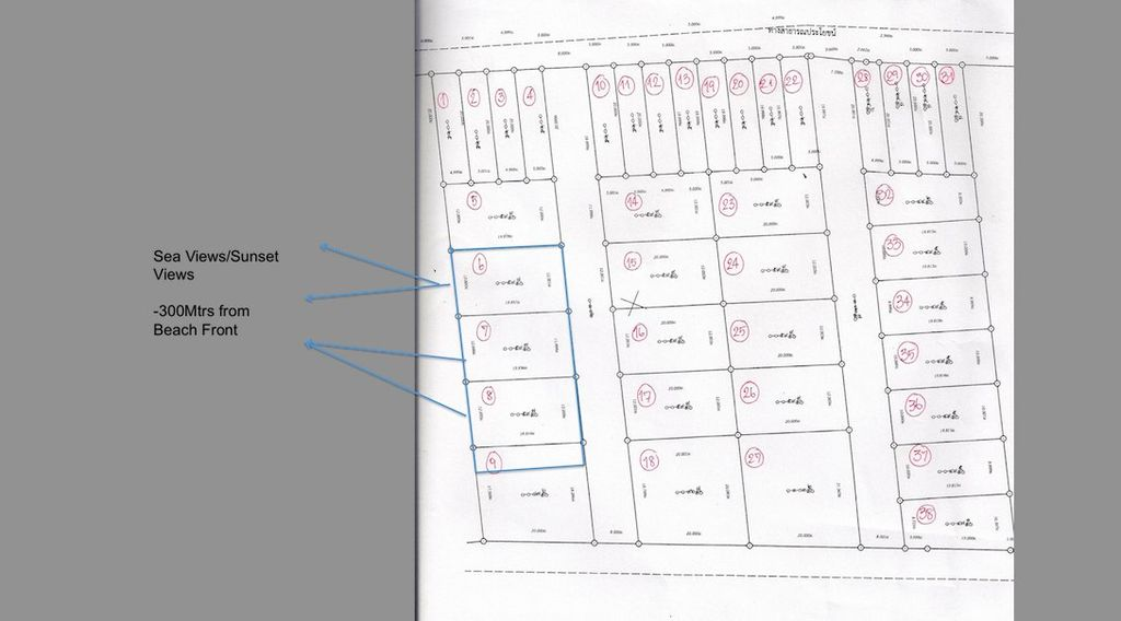 Land plot and layout, top road comes from main road, each plot area has a road due, base has a new road waiting to be built, All roads will have drainage and surfacing.As per legal contract with L