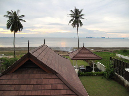 Breathtaking sunset at Had Yao beach, Krabi  opportunity to own beachside land plot  to build your dream Villa when you're ready to.
