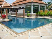 Gym and spa pool